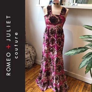 Rare Romeo & Juliet Couture TieDye Boho maxi dress